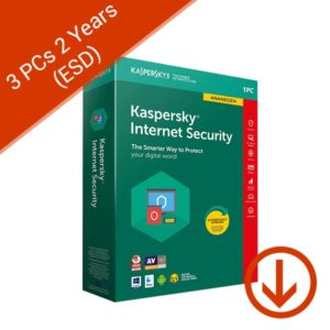 Kaspersky Internet Security 2019 3 PC 2 Years
